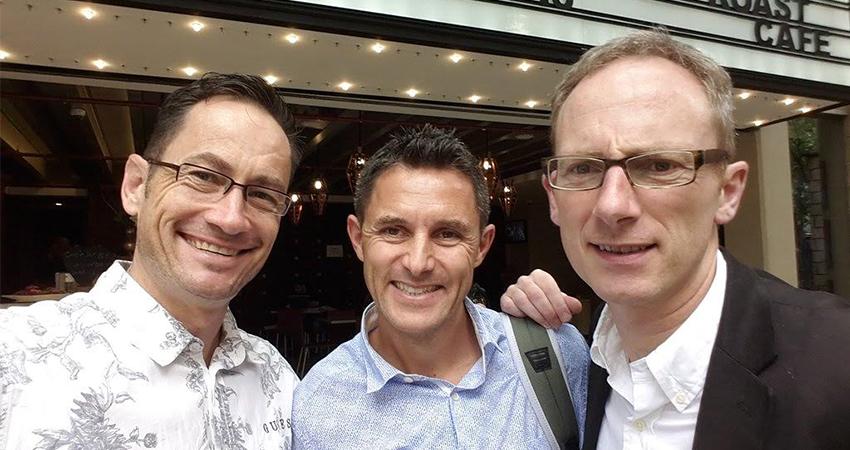 Steve Saunders, Doug Ryder & Simon Shepard