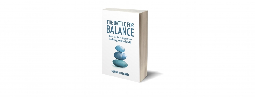 The Battle for Balance is a new book by Optima-life CEO Simon Shepard