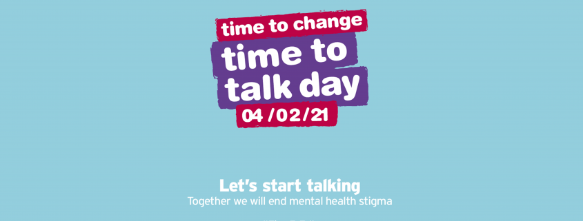 logo for time to talk day 2021