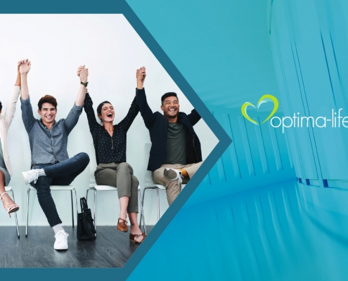 a flip book about optima-life's wellbeing and coaching programmes for all businesses and organisations